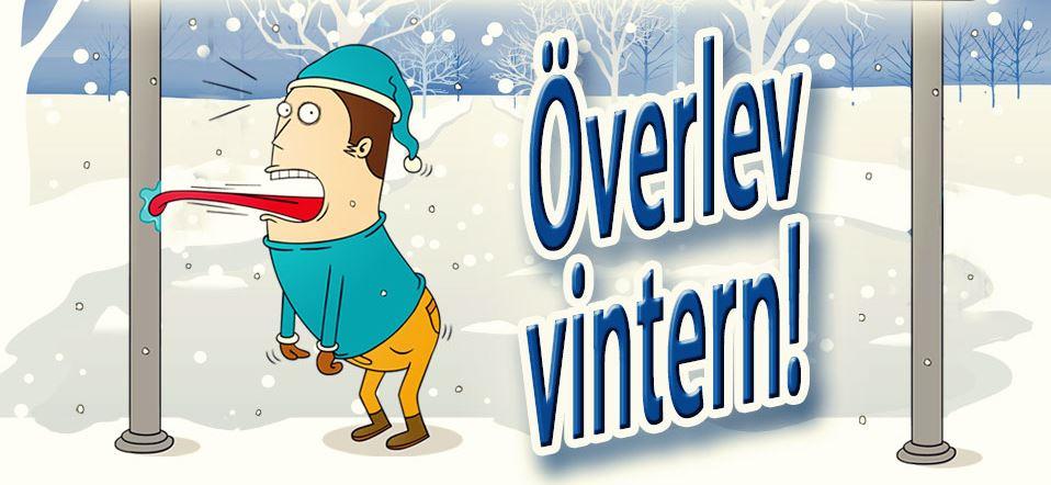 Infografik - överlev vintern