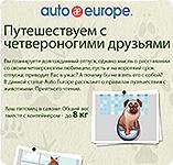 Путешествуем с четвероногими друзьями | Auto europe