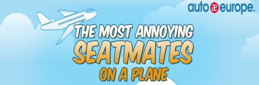 Infographic - The Worst Seatmates Onboard