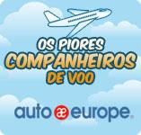 Os piores companheiros de voo | Auto Europe aluguer de carros