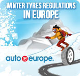 Winter Tyres | Auto Europe Infographic