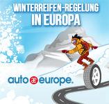 Infografik - Winterreifen Regelungen in Europa