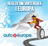 Regler om vinterdæk<br /> i Europa