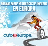 Neumáticos de invierno en Europa | Auto Europe