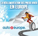 Les pneus hiver en Europe