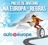 Pneus de inverno na Europa - Regras | Auto Europe aluguer de carros