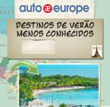 Destinos de Verão menos conhecidos | Auto Europe Aluguer de carros