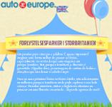Forlystelsesparker i Storbritannien | Auto Europe Infografik