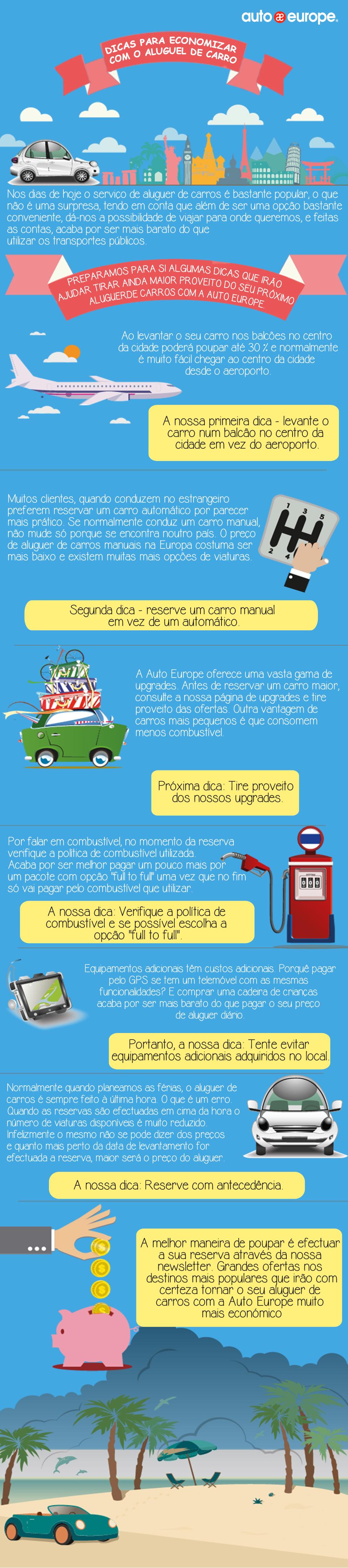 Dicas de aluguel de carros | Auto Europe
