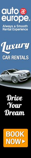 Luxury Car Rentals 120x600 Banner