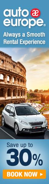 Auto Europe 160x600 Banner