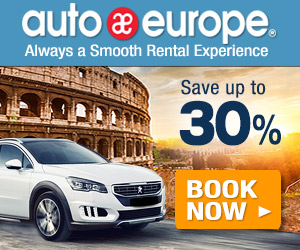 Auto Europe: Save Up To 30% (Teal)