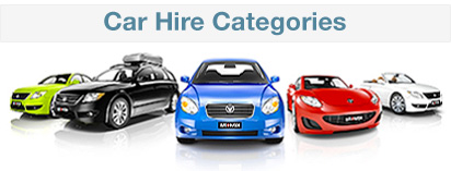 Car hire categories