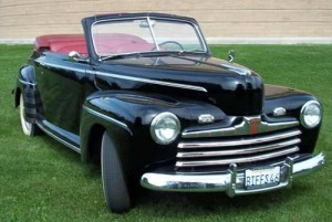 Ford Super De Luxe Convertible