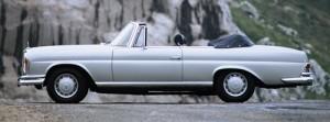 1969er Mercedes-Benz 280SE cabriolet