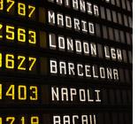 Hyrbil på flygplatsen