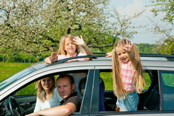 Viaggiare in con i bambini