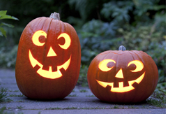 Autonoleggio per le vacanze di Halloween