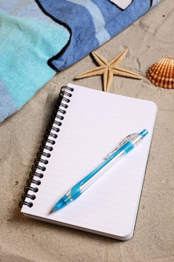Appunti di viaggio in spiaggia