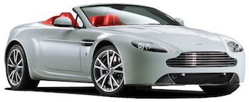 Car Hire MADRID  Aston Martin Vantage