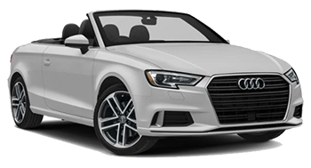 Location de voitures CANNES  AudiA3Convertible