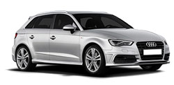 Car Hire SORRENTO  Audi A3 Sportback