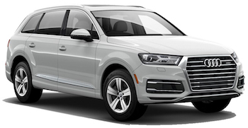 Car Hire ZURICH  Audi Q7