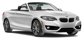 Car Hire VIERZON  BMW 2 Series Convertible