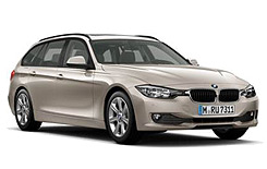 Car Hire NORDERSTEDT  BMW 3 Series Wagon