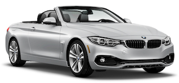 Car Hire NICE  BMW 4 Series Convertible