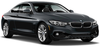 Car Hire CANNES  BMW 4 Series Coupe