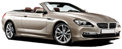 Car Hire CANNES  BMW 650 Convertible