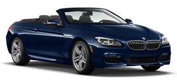 Car Hire CANNES  BMW 6 Series Convertible