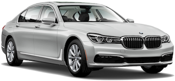 hyra bilar LONDRES  BMW 7 Series