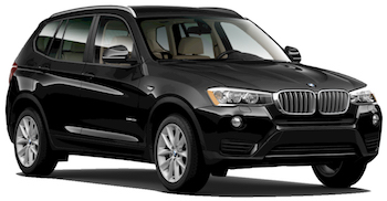 hyra bilar BURNLEY  BMW X3