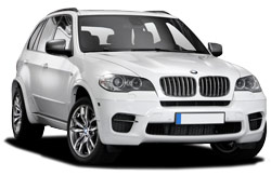 Car Hire ABERDEEN  BMW X5M 50D
