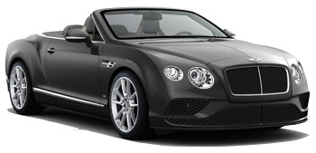 Car Hire MADRID  Bentley Continental Convertible