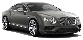 Car Hire ZURICH  Bentley Continental GT