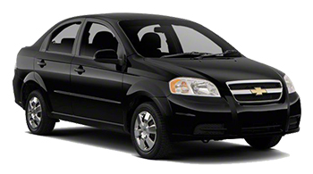 Car Hire LORETO  Chevrolet Aveo