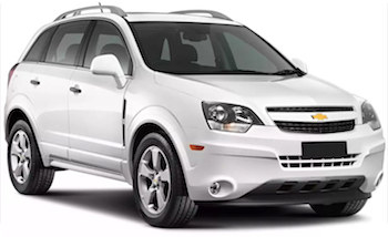 Car Hire SALTA  Chevrolet Captiva