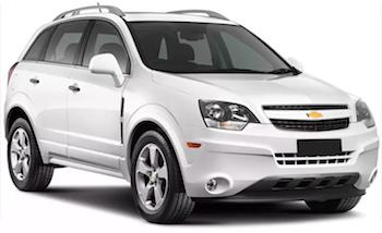 Alquiler SAINTE ANNE  ChevroletCaptiva