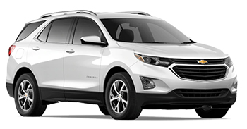 Car Hire LOS GATOS  Chevrolet Equinox