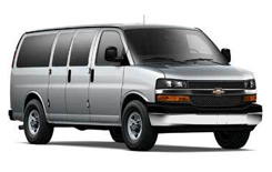 Chevy Express 15 pax