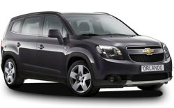 Car Hire HADERA  Chevrolet Orlando
