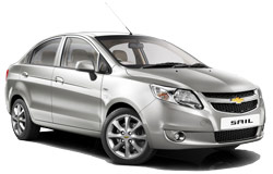 arenda avto MONTEVIDEO  Chevrolet Sail