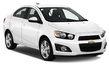 Car Hire RED DEER  Chevrolet Sonic