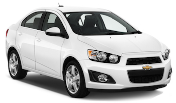 Car Hire ABU DHABI  Chevrolet Sonic
