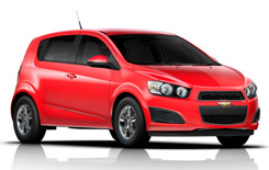 Alquiler EAST LONDON  Chevrolet Sonic