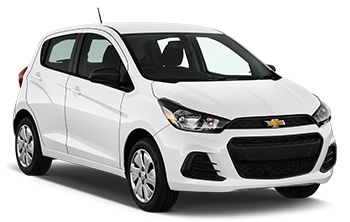 Car Hire BARBADOS  Chevrolet Spark
