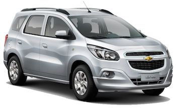 Car Hire PINDAMONHANGABA  Chevrolet Spin